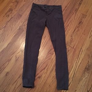 Flying monkey brown skinny jeans